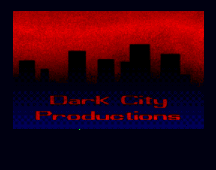 The Dark City logo from Guru Meditation